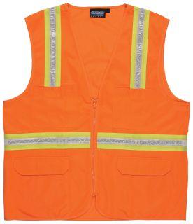 61748 S103 Non ANSI Surveyor Hi Viz Orange MD-