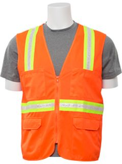 61749 S103 Non ANSI Surveyor Hi Viz Orange LG-
