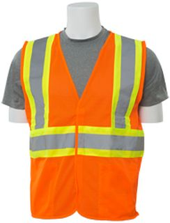 61767 S382P Class 2 Mesh Hi Viz Orange Contrasting Trim 3X-