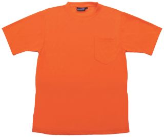 61772 9601 Non ANSI T Shirt Short Sleeve Hi Viz Orange MD-