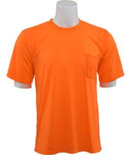 61773 9601 Non ANSI T Shirt Short Sleeve Hi Viz Orange LG-