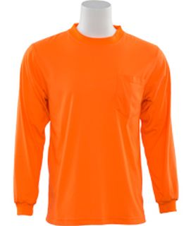 61791 9602 Non ANSI T Shirt Hi Viz Orange LG-