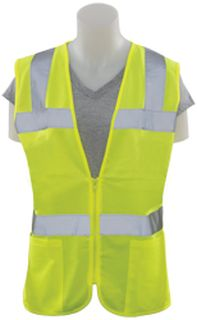 61921 S720 Class 2 Ladies Fitted Tricot Lime 4X-