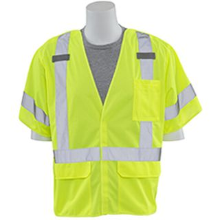 61930 S661 Class 3 Break Away Hi Viz Lime LG-