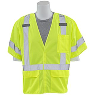 61933 S661 Class 3 Break Away Hi Viz Lime 3X-