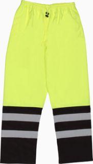 62109 S849 Class E Pants Hi Viz Lime XL-