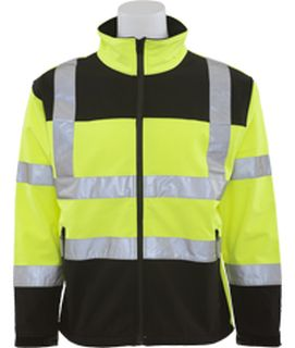 62205 W650 Class 3 Soft Shell Jacket Men's XL-