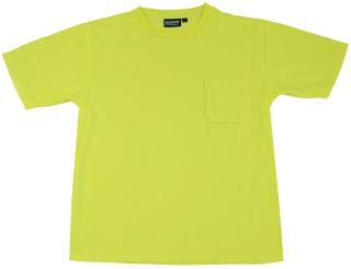 64018 9006 Non ANSI T Shirt Hi Viz Lime MD-