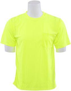 64024 9006 Non ANSI T Shirt Hi Viz Lime 5X-