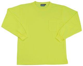 64028 9007 Non ANSI T Shirt Hi Viz Lime XL-