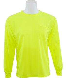 64030 9007 Non ANSI T Shirt Hi Viz Lime 3X-