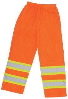65032 S210 Class E Pants Hi Viz Orange MD-