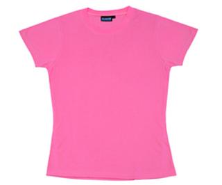 Non-ANSI Ladies T-Shirt Jersey Knit