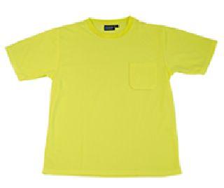 Non-ANSI Short Sleeve T-Shirt Birdseye Knit Mesh