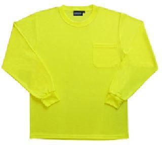 Non-ANSI Long Sleeve T-Shirt Birdseye Knit Mesh
