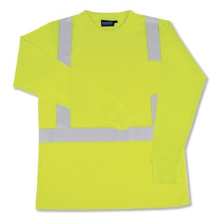 ANSI Class 2 T-Shirt Long Sleeve W/Reflective Tape