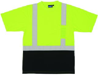 9604S ANSI Class 2 T-Shirt Short Sleeve w/Reflective Tape