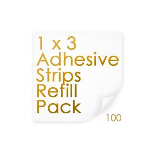 Adhesive Strips 1 X 3 100/BX