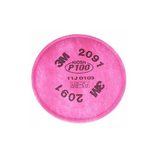 Particulate Filter P100 Half Facepiece Respirators
