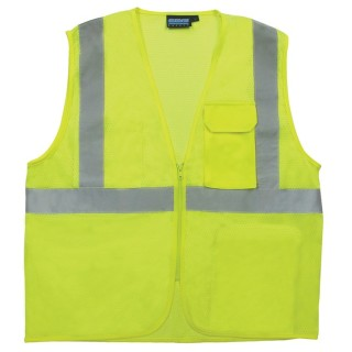 ANSI Class 2 Surveyor's vestVest Mesh - Zipper