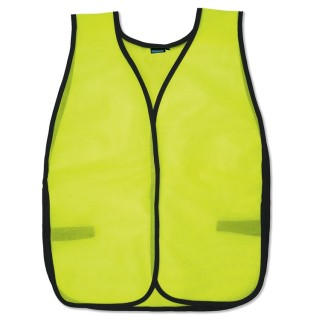 NON-ANSI Vest Tight Weave Mesh - One Size Fits Most - Hook & Loop