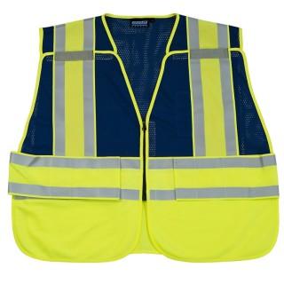 S340 PSV Break-away Blue Safety Vest