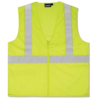 ANSI Class 2 Vest Mesh Economy- Zipper