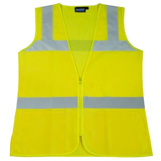 S720 Class 2 Ladies Fitted Tricot Lime