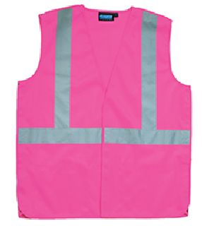 ANSI Class 3 Vest Oxford Front / Mesh Back - Zipper