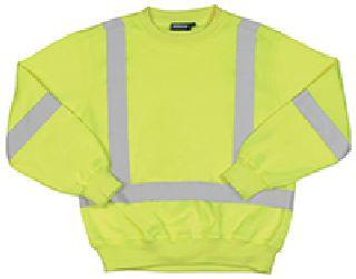 ANSI Class 3 Crew Neck Sweatshirt
