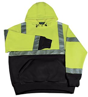 ANSI Class 2 Black Bottom Sweatshirt