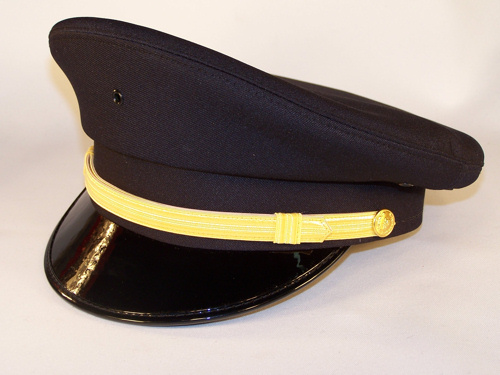 4 Star Navy Cap-Midway Cap