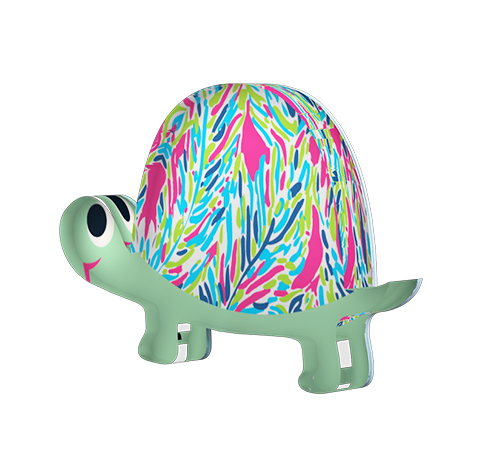 Acrylic Button - Turtle