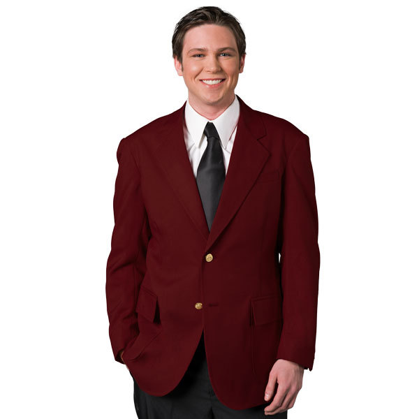 Mens Single Breasted Ultralux Blazer-UltraLux Club Colors