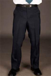 Mens Tailored Front Ultralux Pants-UltraLux Polyester Collection