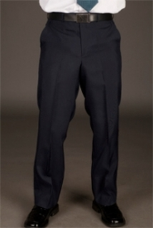 Mens Tailored Front Easywear Pants
