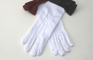 Unisex Parade / Nylon Waiter Glove-Gourment Collection