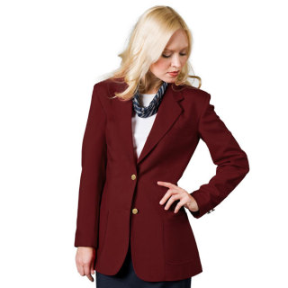 Ladies 2-Button Ultralux Blazer-UltraLux Club Colors