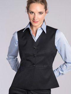 Peplum Tunic Vest-Easywear Polywool