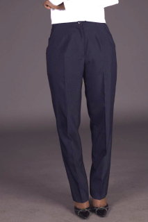 Ladies Tailored Front Easywear Pants-Easywear Polywool