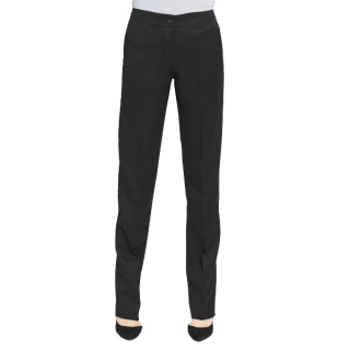 Womens Ecotex Recycled Polyester Tailored Front Pant-EcoTex Recycled Polyester