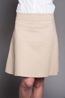 Cotton/Lycra Flare Skirt