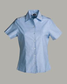 Ladies Oxford Overblouse, Short Sleeve