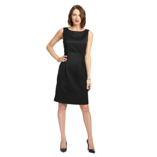 Womens The Simone Sleeveless Dress-Easywear Polywool