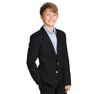 2 Button Economy Blazer-Collegiate