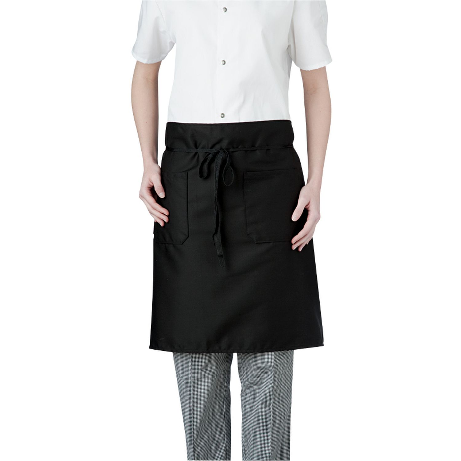 2-Pocket Mid-Length Apron (minimum 6 per order)-Chefwear