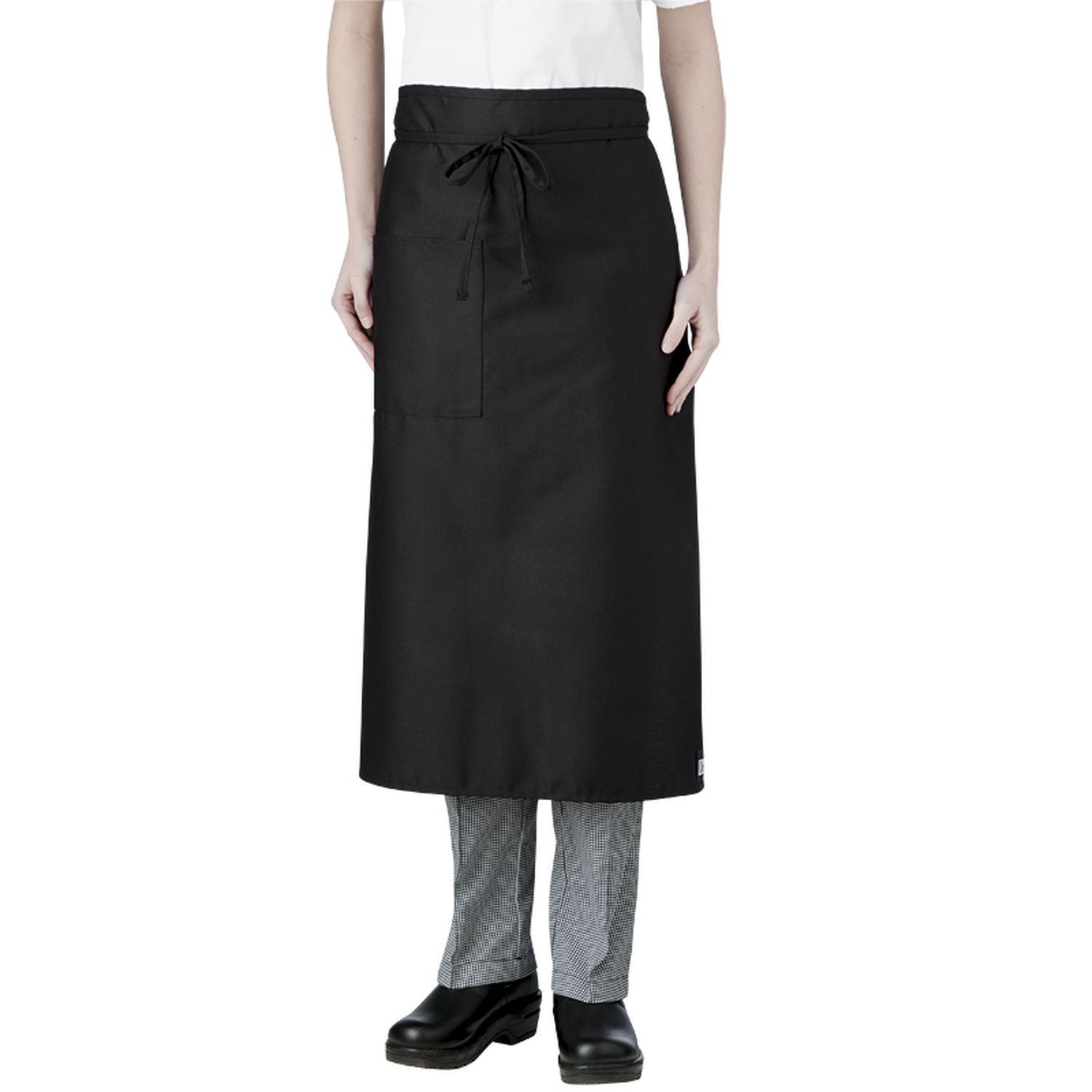 1-Pocket Long-Waist Bistro Apron (minimum 6 per order)-Chefwear