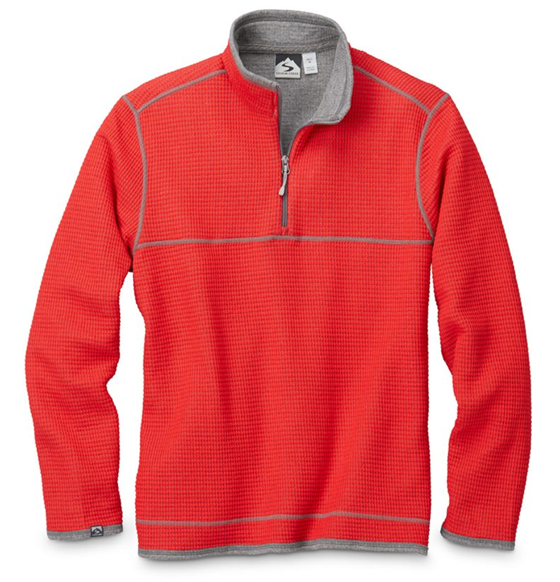 Storm Creek - Men's Waffle Knit Pullover-Storm Creek