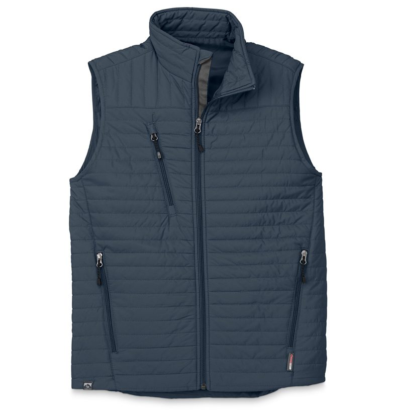 Storm Creek - Men's Quilted Thermolite Vest-Storm Creek