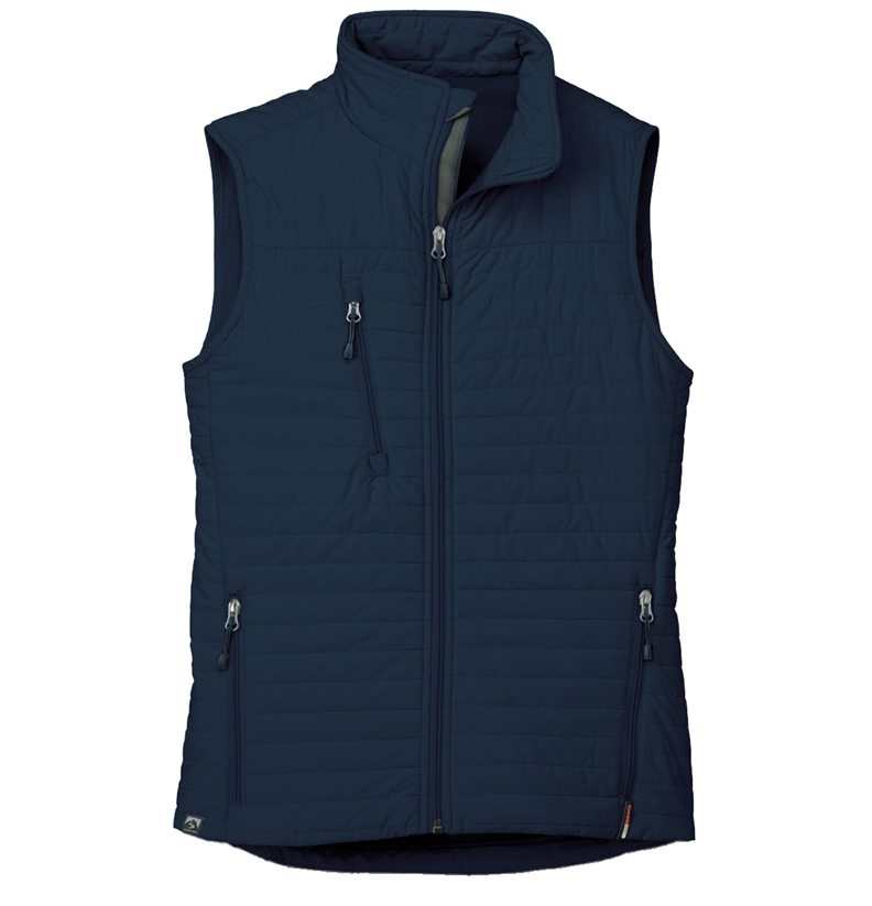 Storm Creek - Women's Quilted Thermolite Vest-Storm Creek
